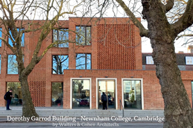 The Dorothy Garrod Building, Newnham College, Cambridge