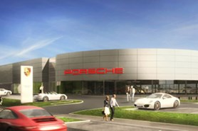 Porsche Dealership Mannheim